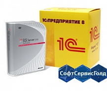 Лицензия на сервер MS SQL Server 2014 Standard Runtime для 1С